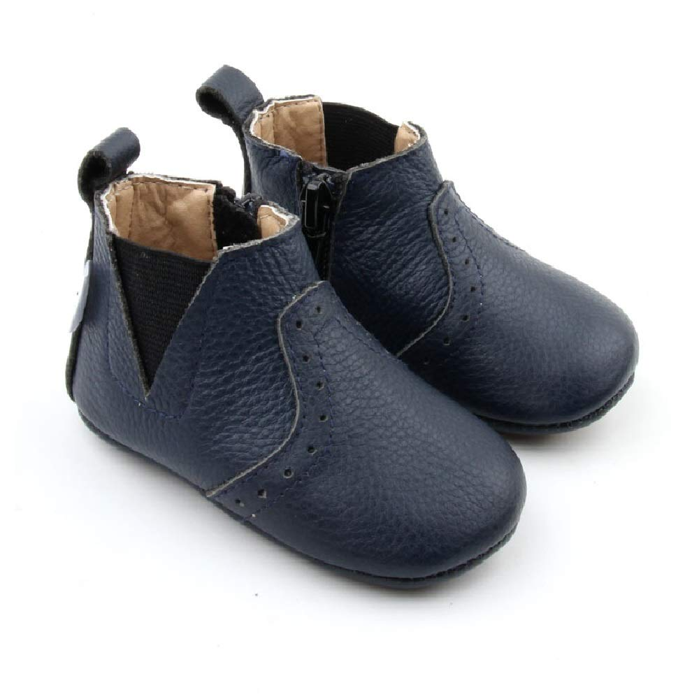 Infant Boots Navy Starbie Baby Boots Brown Baby Booties Toddler Boots Boys//Girls Baby Boots Brown Baby Booties Leather Baby Chelsea Boots
