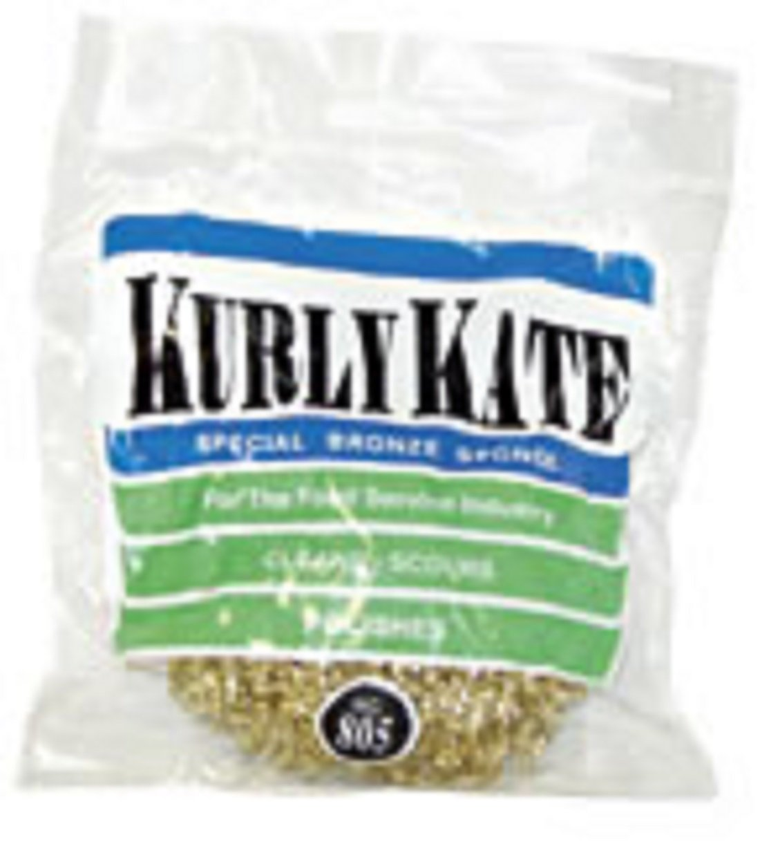 Kurly Kate Bronze Scrubber, 805, Product # 7380550, 50 Gram, 72 Pack by Disco