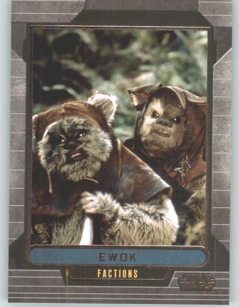 2012 Star Wars Galactic Files #350 Ewok (Non-Sport Collectible Trading Cards) Topps