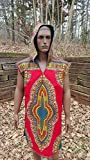 DevitaDesigns Mens Hoodie Shirt 100% Cotton Denim Ankara Tank TShirt Large Dashiki