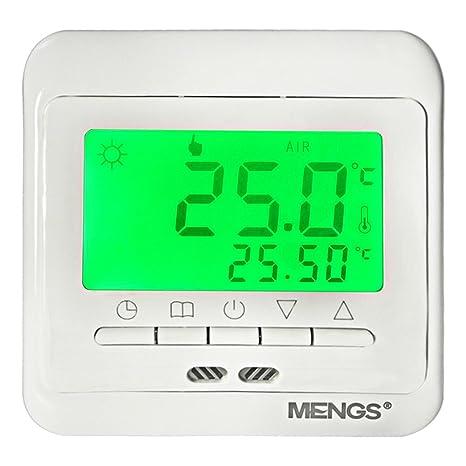 daskoo c11.h3 7 días programables Calefacción Termostato Con Pantalla Lcd PC AC 85 –