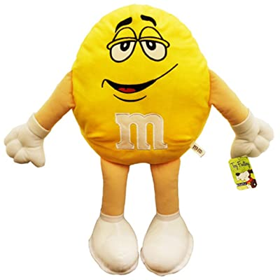 M&M\'s 20 Inch Plush Figure Dolls (Yellow): Toys & Games [5Bkhe1201090]