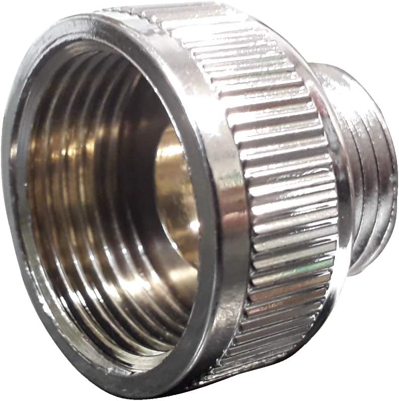 Universal 1 x 1//2 BSP Shower Hose Pipe Threaded Reducer Bush Adaptor