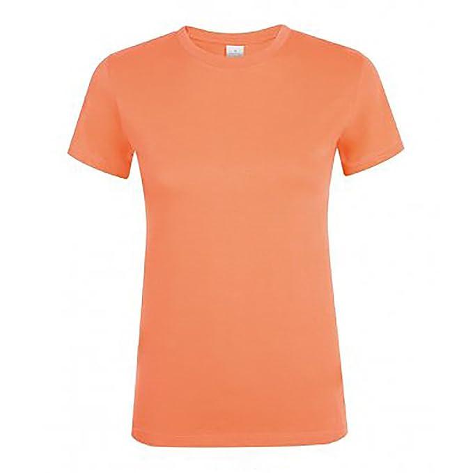 3af12a1f4 SOLS - Camiseta de manga corta modelo Regent para mujer  Amazon.es  Ropa y  accesorios