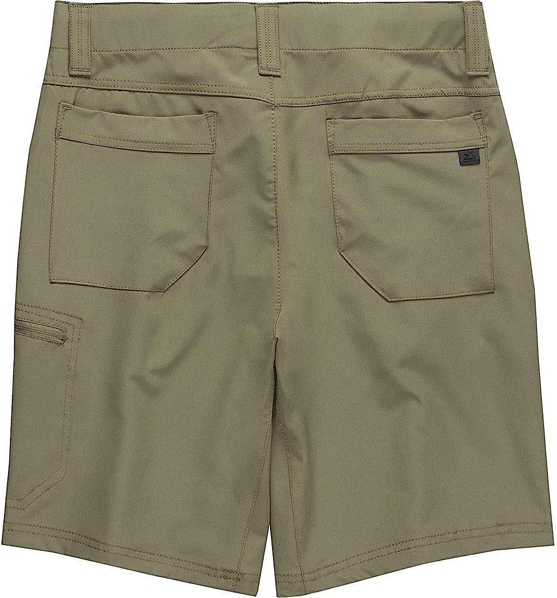 ZeroXposur Mens Travel Flex Stretch Lightweight Shorts