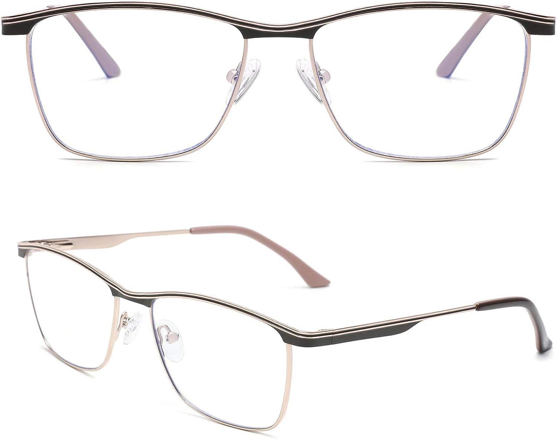 Z/éro D Blue Light Blocking Glasses Square Eyeglasses Computer Eyewear Frame for Men Women