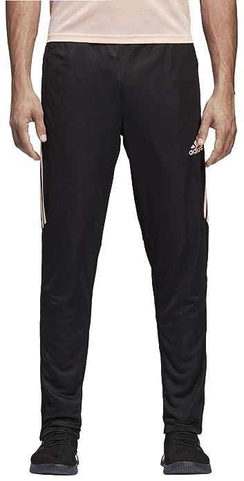 4ef71ea51 adidas Men's Soccer Tiro 17 Training Pant, Black/Haze Coral, X-Large