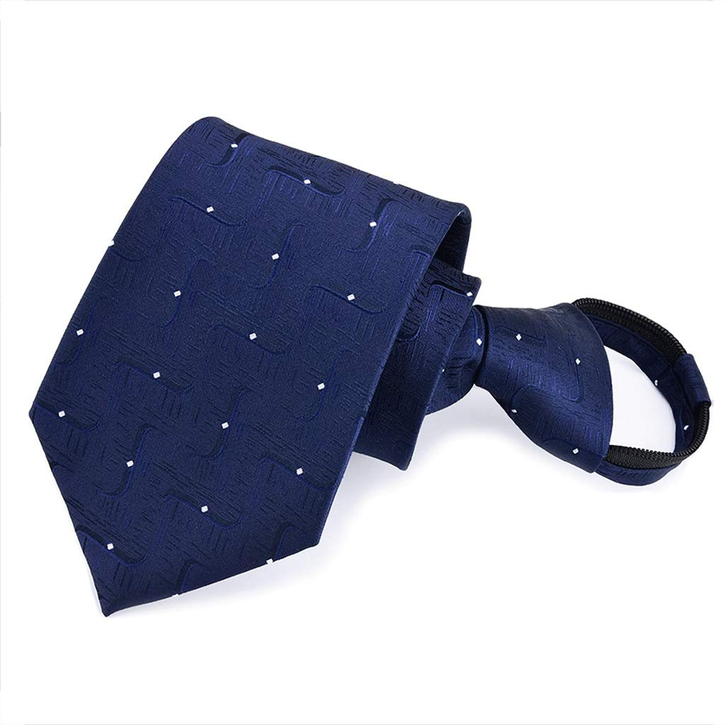 YXN Casual Color sólido Corbatas/Corbatas con Cremallera para ...