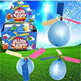 Balloon Helicopter Portable Flying Toy,20X Colorful Traditional Classic.