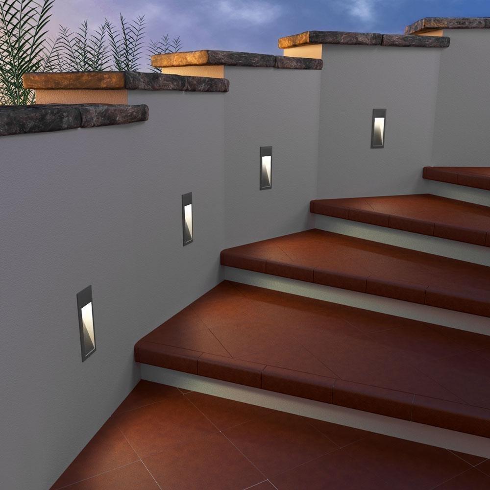 parlat LED lampada per scale lampada da incasso a parete da ...