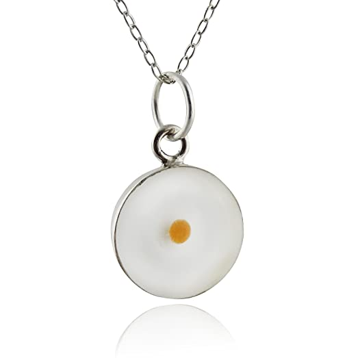 Amazon sterling silver round mustard seed pendant necklace 18 sterling silver round mustard seed pendant necklace 18quot aloadofball Image collections