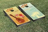 TIKI BAR MUSIC CORNHOLE GAME SET