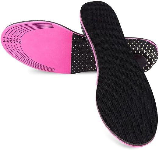 EVA Cushion Pads Heel Insert Increase Taller Height Lift Men Women Shoes Insoles