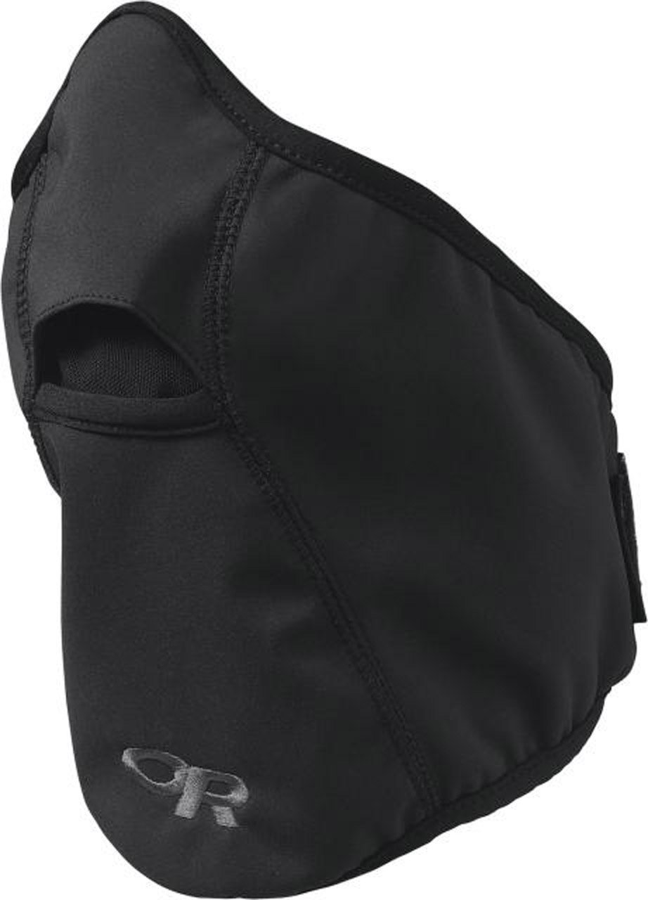 Outdoor Research Face Mask, Black, Medium