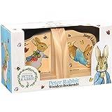 Beatrix Potter Peter Rabbit Wooden Bookends, Multi