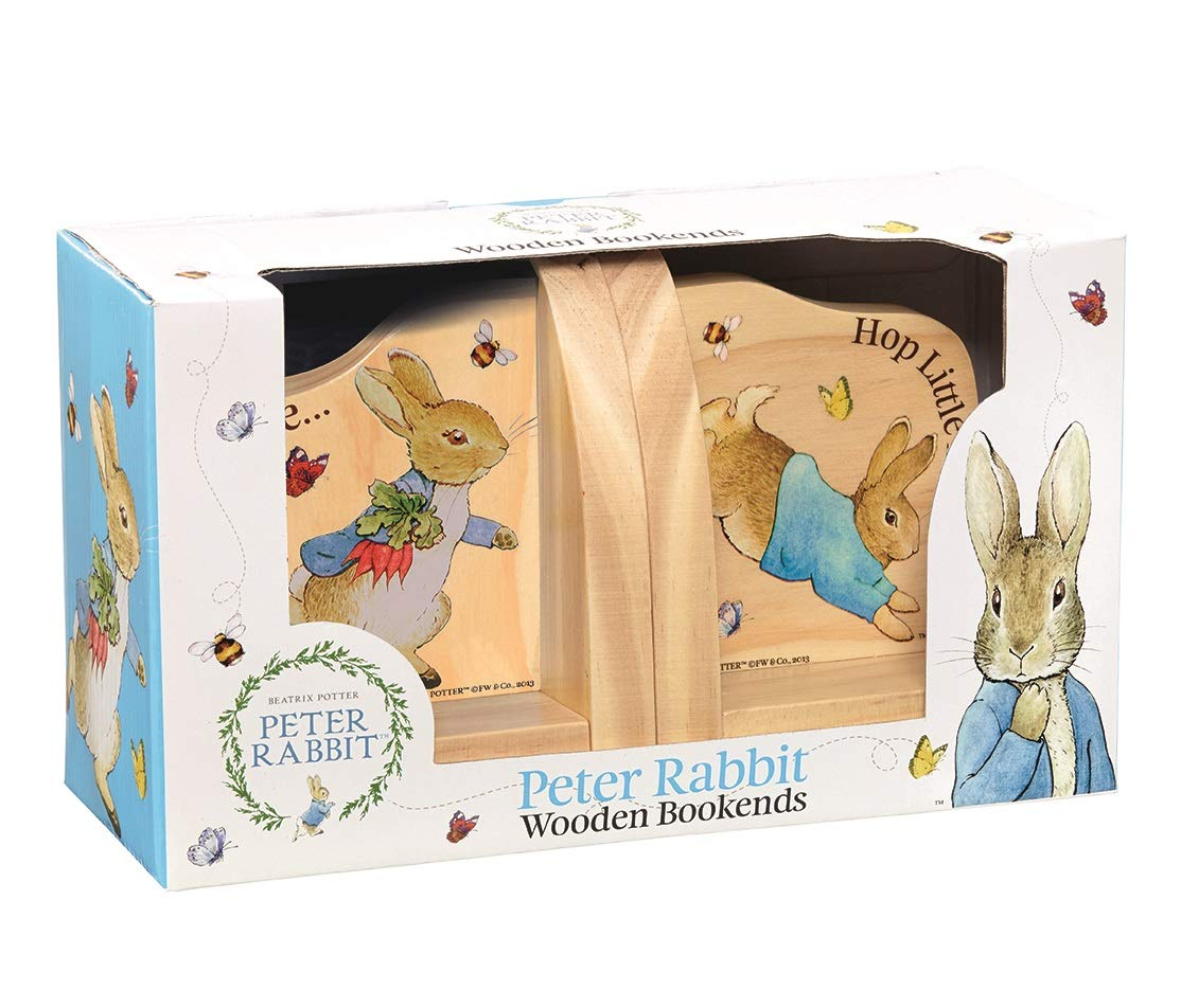 Rainbow Designs - Peter Rabbit - Wooden Bookends BP1236