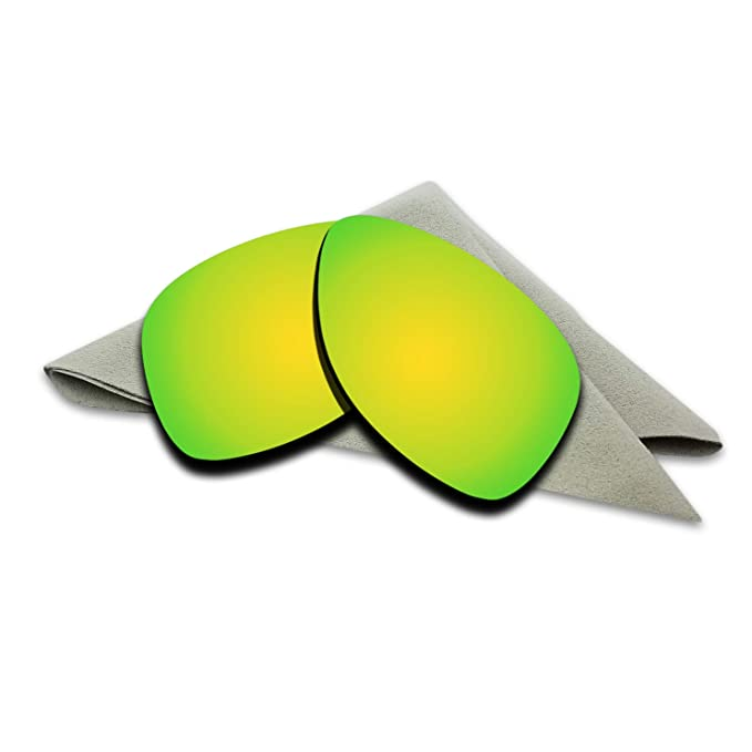 8449d1c435 24K Golden Mirrored Polarized Lenses Replacement for Oakley Dispatch 2  Sunglasses