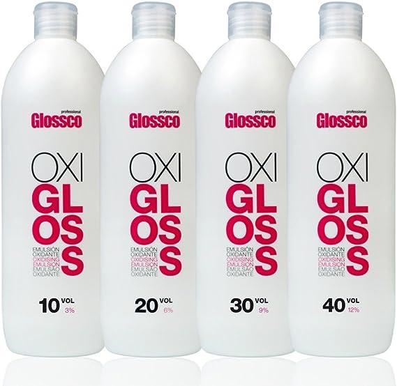Glossco, Oxigenada (10 VOL) 75 ml: Amazon.es: Belleza