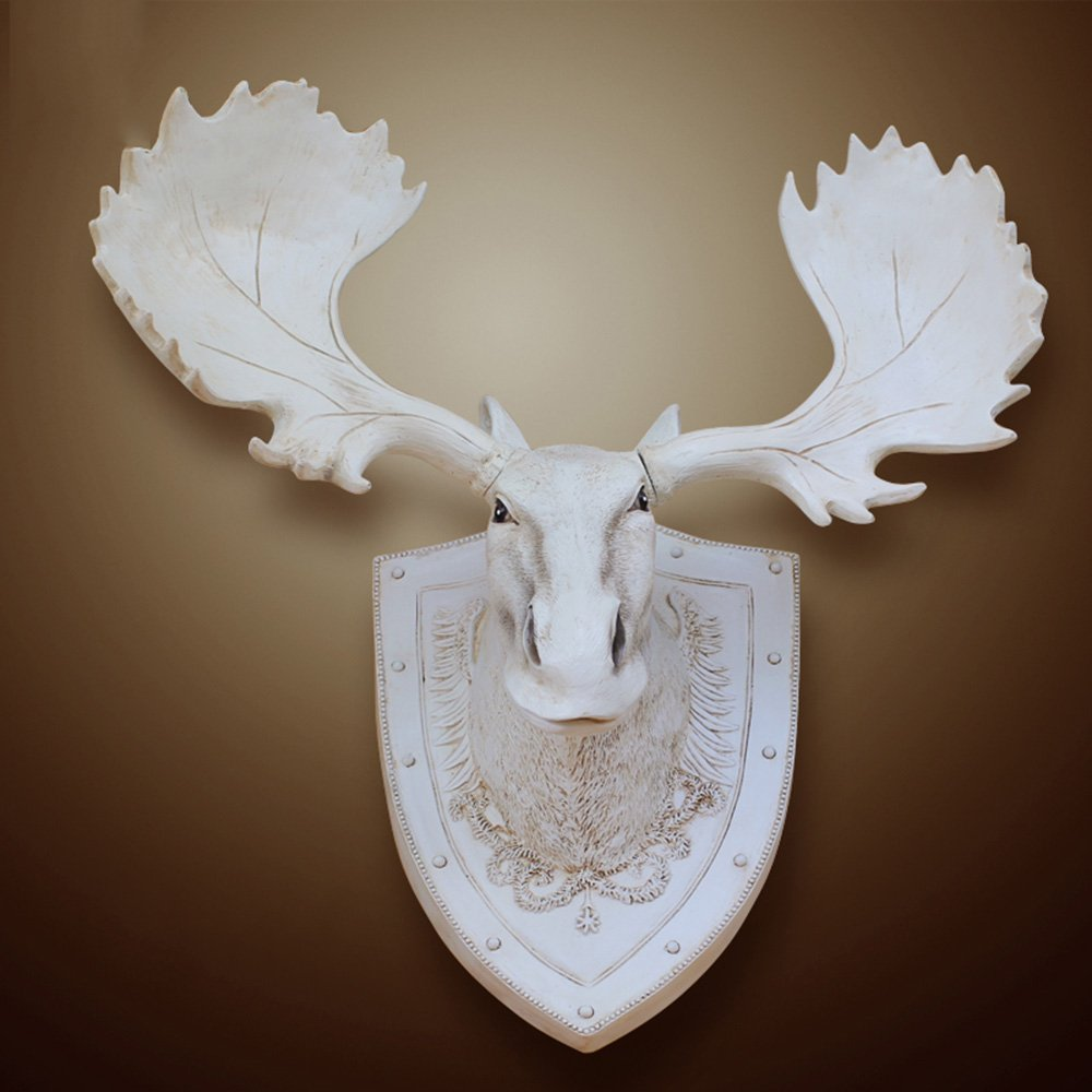 European-style Harz-Rotwild-Kopf-Wand-Dekoration-Retro- Anhänger auf amerikanischer Stab-Wand-Wand-Dekoration (färben wahlweise freigestellt) ( farbe : # 2 )
