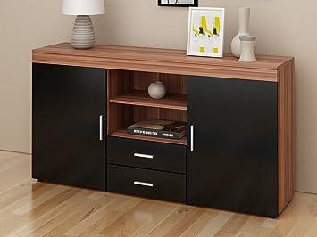 Keinode Buffet Armoire De Buffet Avec 6 Tiroirs Design Moderne