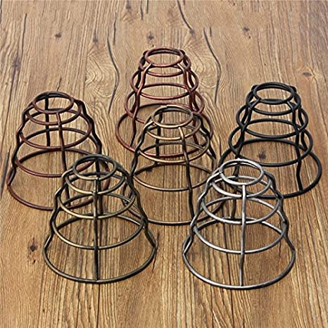 130mm diy vintage pendant trouble light bulb guard wire cage ceiling 130mm diy vintage pendant trouble light bulb guard wire cage ceiling hanging lampshade random greentooth Gallery