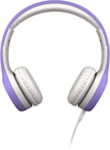 LilGadgets LGCP-05 Connect+ Premium Volume Limited Wired Headphones with SharePort for Children - Purple