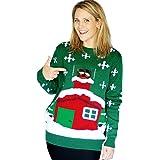 Morphsuits Digital Dudz Stuck Santa Digital Christmas Sweater