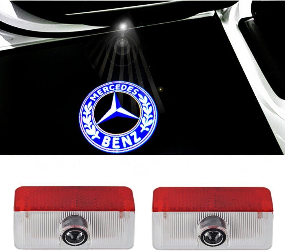 Colorbuy Led Porta Luce Di Marchio Dellautomobile Benvenuto Lampada Auto