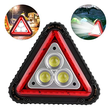 Emergency Cob Work LightTriangle Multi Warning Led Light Flood 4qRc53AjL