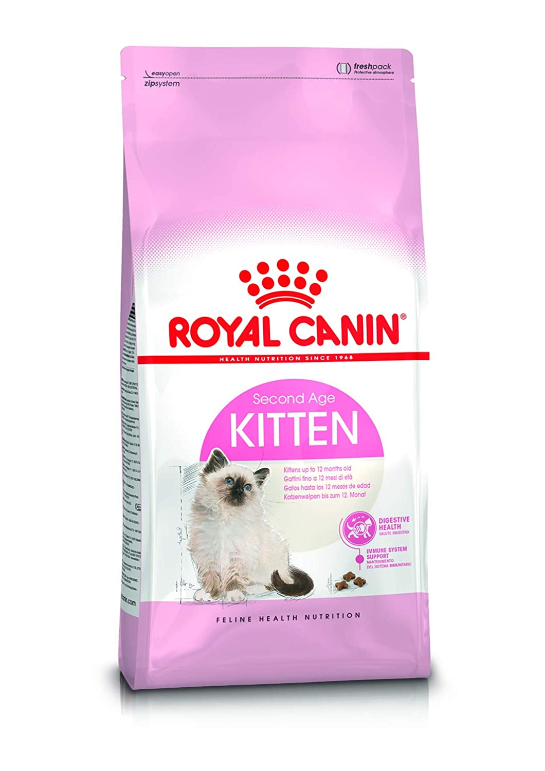 Buy Royal Canin Second Age Kitten Food 4 Kg Online At Low Prices In India Amazon In