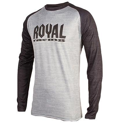 442794c8b Royal Racing 2018 Men s Heritage Long Sleeve Jersey - 0063 (Stone Grey  Black - XL