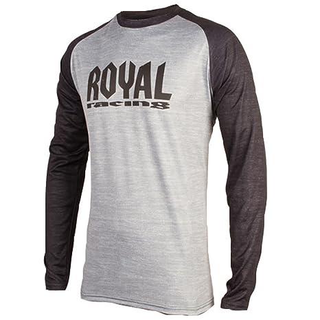 a6ce2cc79 Royal Racing 2018 Men s Heritage Long Sleeve Jersey - 0063 (Stone Grey  Black - XL