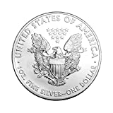 2019 Lot of (5) 1-Ounce American Silver Eagle