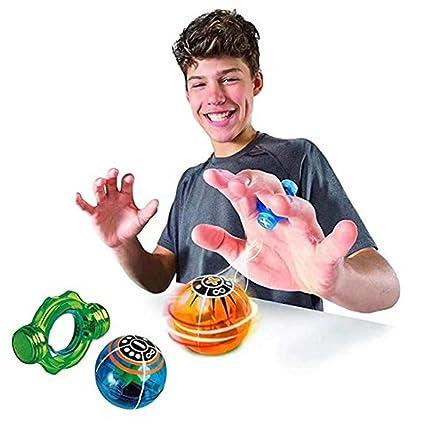 New!luminous Magnetic Ball Toys For Children Creative Education Fingertips Fidget Spinner Anti Stress Color Random Always Buy Good Toys & Hobbies