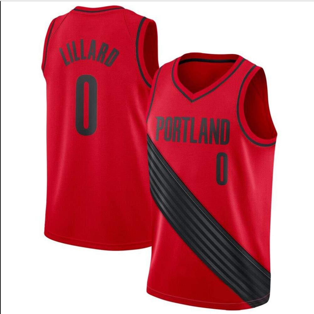 best service bb44f 79951 HJM Damian Lillard #0 Men's Basketball Jersey - NBA Portland ...