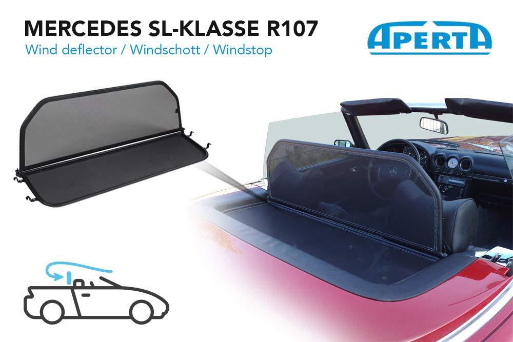 Aperta Windschott Mercedes-Benz SL-Klasse Dattel 100/% Passgenau OEM Qualit/ät