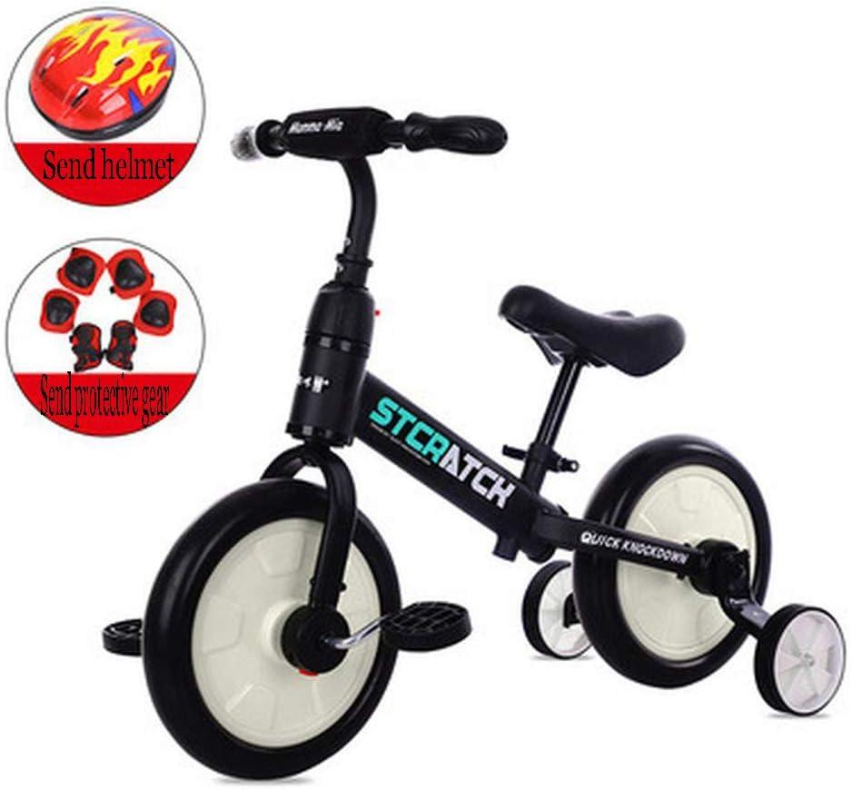 LINLIM Bicicleta De Dos Ruedas para Bebé con Triciclo Extraíble Y ...