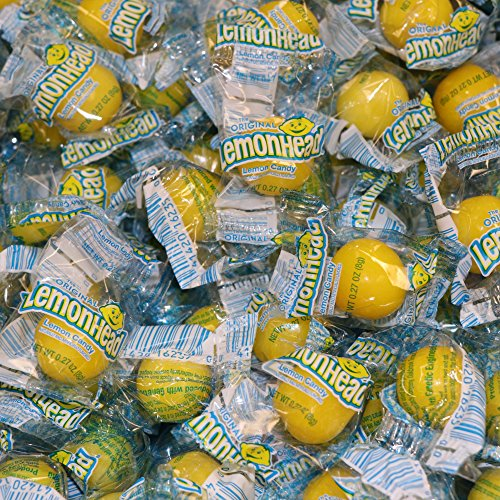 Lemonhead Candy Bulk 3 Pound Box Each Individually Wrapped Candies