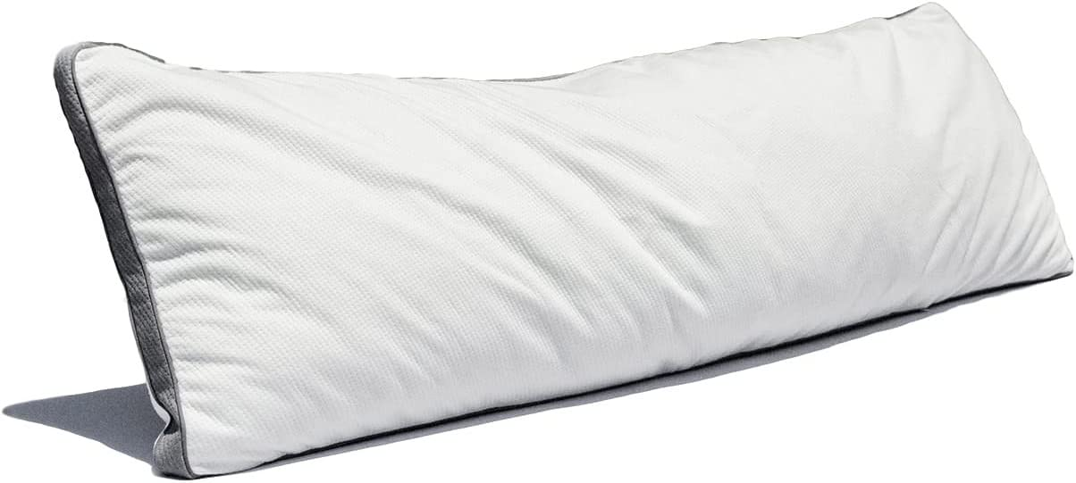Coop Home Goods -Lulltra Hypoallergenic Zippered Pillow Protector Covers - Single- Bamboo Derived Rayon Cover - Machine Washable - 15 Year Warranty - Body Pillow