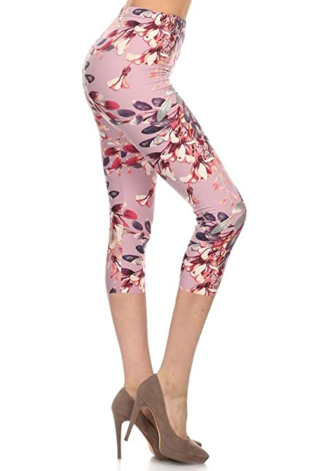 Leggings Depot Women's Popular Best Capri Cropped
