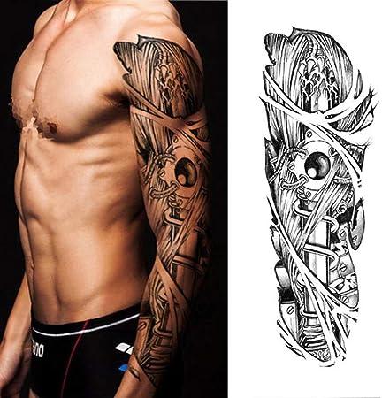 tzxdbh Etiqueta engomada del Tatuaje del Loto del Geisha de la ...