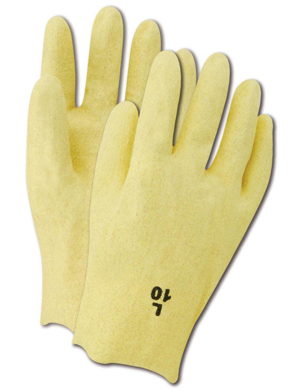 10 Length Magid 5402 Glove One Dozen Large Vinyl Coating