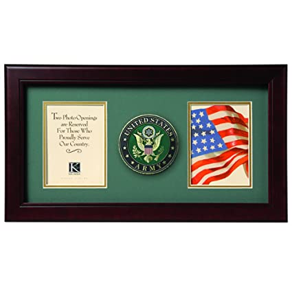 Amazon Allied Frame United States Army Dual Picture Frame