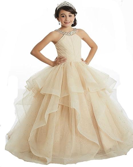 YAOBABBY Strappless Beading Bodice Chiffon Floor Length Party Evening Dress