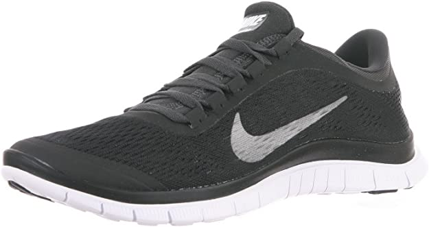 Nike Free 3.0 V5 Men Laufschuhe black metallic silver