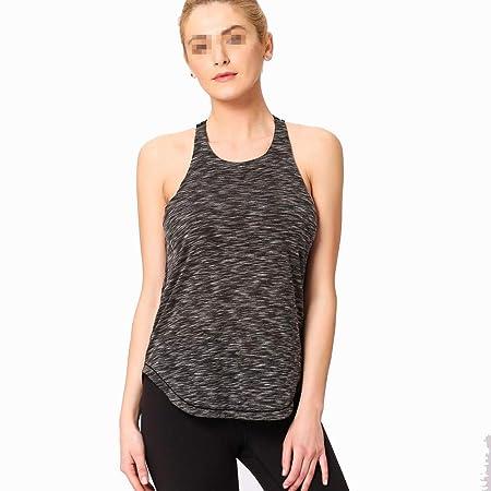 Liuxiaomiao Top de Yoga para Mujer Mujeres Yoga Camisetas ...