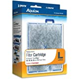 (2 Boxes) Aqueon 06087 Filter Cartridge, Large, 3-Pack each