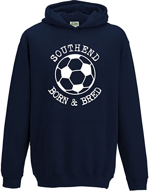 SOUTHEND UNITED Football Baby//Kids//Childrens T-SHIRT Top Personalised-Any colour
