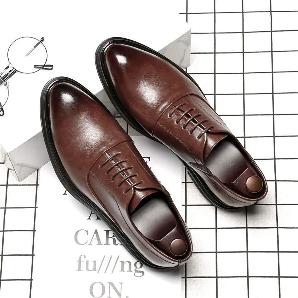Business Oxford da Uomo Uomo Uomo Casual Fashion British Style Confortevole Scarpe Basse a Punta Bassa (in Pelle Verniciata Opzionale) Scarpe da Cricket 4c7787
