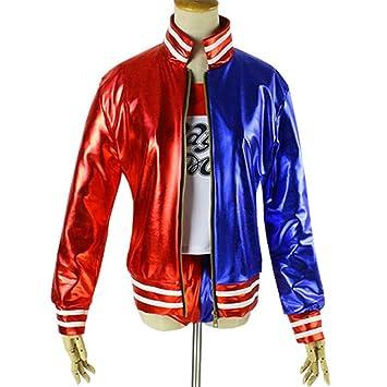 unbrand Adulto Niños Chica Harley Quinn Disfraz de Cosplay Disfraz de Dama  Completo Conjunto de Navidad bfd6c1baaf05